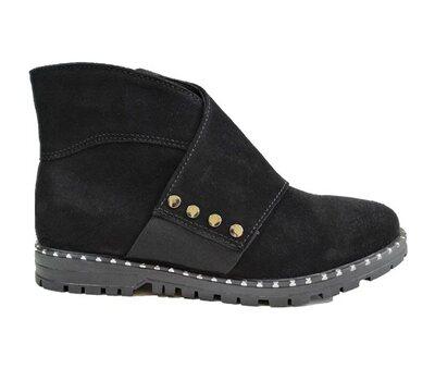 Ботинки для девочек 01406 Ч