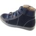 Ботинки на шнурках синие 90357 С
