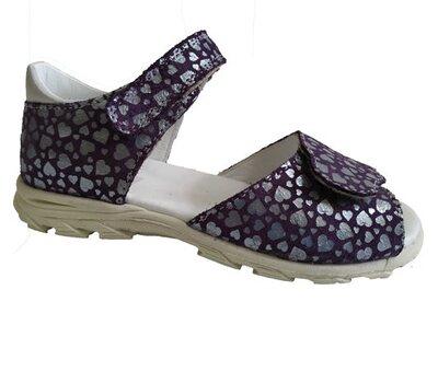 Туфли открытые для девочек 90412 У