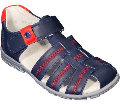 Туфли открытые для мальчиков 01283 С